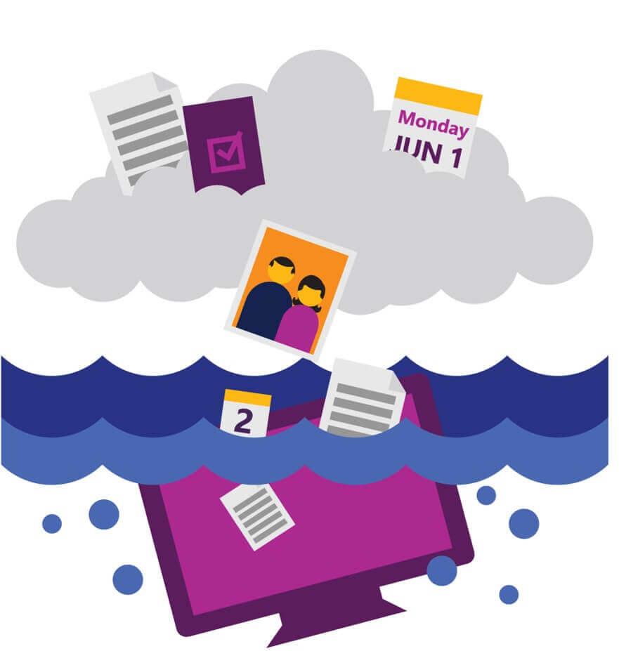 Храните файлы в защищенном облаке
